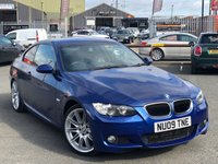 USED 2009 09 BMW 3 SERIES 2.0 320D M SPORT 2d 175 BHP *PROFESSIONAL NAVIGATION, 19'' ALLOYS, LE MANS BLUE!*