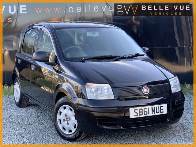 USED 2012 61 FIAT PANDA 1.2 ACTIVE 5STR 5d 69 BHP *£30 ROAD TAX, CITY POWER STEERING, CD PLAYER!*