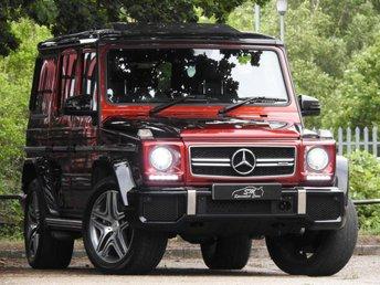 2015 MERCEDES-BENZ G-CLASS 5.5 G 63 AMG COLOUR EDITION 5d AUTO 563 BHP £66500.00