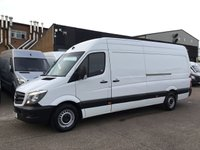 USED 2014 14 MERCEDES-BENZ SPRINTER 2.1 313CDI LWB HIGH ROOF 130BHP. 1 OWNER. F/S/H. FINANCE. PX 1 OWNER. LOW 94K MILES. F/S/H. FINANCE. PX WELCOME