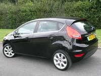 USED 2012 61 FORD FIESTA 1.2 CENTURA SPECIAL EDITION 5d 81 BHP  STUNNING IN BLACK WITH GREAT SPEC