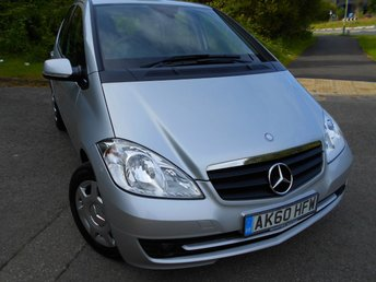 2010 MERCEDES-BENZ A CLASS 1.5 A160 BLUEEFFICIENCY CLASSIC SE 5d 95 BHP ** ONE PREVIOUS OWNER , YES ONLY 52K, AIRCON, BLUETOOTH, ABSOLUTE BARGAIN ONLY £3995 !!!! **** £3995.00