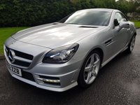 USED 2012 62 MERCEDES-BENZ SLK 1.8 SLK200 BLUEEFFICIENCY AMG SPORT 2d AUTO 184 BHP Superb Example in Stunning Order.