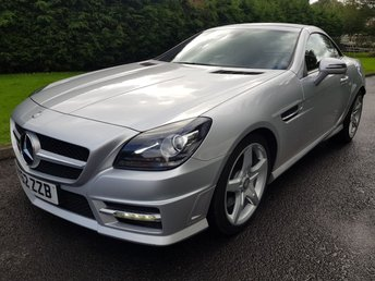 2012 MERCEDES-BENZ SLK 1.8 SLK200 BLUEEFFICIENCY AMG SPORT 2d AUTO 184 BHP £11995.00