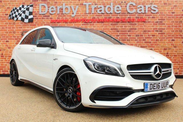 MERCEDES-BENZ A CLASS at Derby Trade Cars
