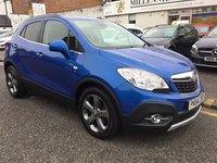 USED 2014 64 VAUXHALL MOKKA 1.6 SE S/S 5d 113 BHP OUR  PRICE INCLUDES A 6 MONTH AA WARRANTY DEALER CARE EXTENDED GUARANTEE, 1 YEARS MOT AND A OIL & FILTERS SERVICE. 6 MONTHS FREE BREAKDOWN COVER. CALL US NOW FOR MORE INFORMATION OR TO BOOK A TEST DRIVE ON 01315387070 !!
