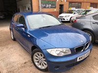 USED 2005 55 BMW 1 SERIES 1.6L 116I ES 5d 114 BHP