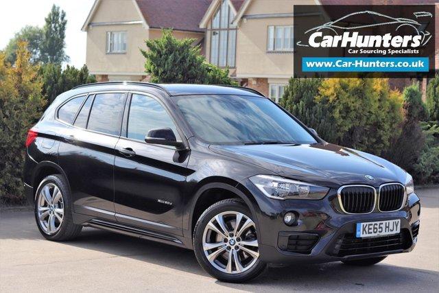 2016 65 BMW X1 2.0 XDRIVE20D SPORT 5d AUTO 188 BHP