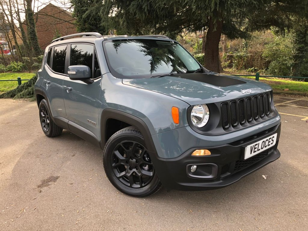 USED 2015 65 JEEP RENEGADE 1.4 LIMITED 5d 138 BHP