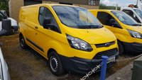 USED 2015 65 FORD TRANSIT CUSTOM 310 BASE 2.2TDCi 125PS Ex- AA TAILGATE VAN WITH AIR-CONDITIONING ONE OWNER - FSH - ONLY 45000m, CHOICE OF 2, ALSO 56,000m VAN @ £8995+vat