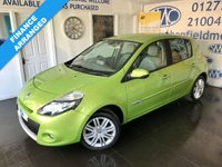 USED 2010 10 RENAULT CLIO 1.6 INITIALE TOMTOM VVT 5d 110 BHP