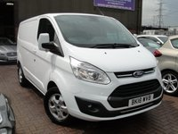 USED 2018 18 FORD TRANSIT CUSTOM 2.0 270 LIMITED LR P/V 1d AUTO 129 BHP PRICE + VAT ANY PART EXCHANGE WELCOME, COUNTRY WIDE DELIVERY ARRANGED, HUGE SPEC