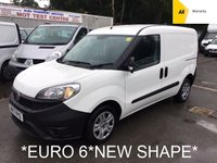 USED 2017 17 FIAT DOBLO *EURO 6* 1.3 16V MULTIJET 90 BHP *SIDE DOOR*