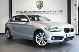 """USED 2017 66 BMW 1 SERIES 1.5 116D SPORT 5DR 114 BHP full service history * NO ADMIN FEES * FINISHED IN STUNNING GLACIER METALLIC SILVER WITH ANTHRACITE UPHOLSTERY + FULL SERVICE HISTORY + SATELLITE NAVIGATION + BLUETOOTH + DAB RADIO + CRUISE CONTROL + SPORT SEATS + RAIN SENSORS + PARKING SENSORS + 17"""" ALLOY WHEELS"""