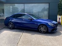 USED 2019 65 MERCEDES-BENZ C 63 AMG MERCEDES BENZ C CLASS 4.0L V8 BiTURBO AMG PREMIUM PANORAMIC ROOF, 360 DEGREE CAMERAS, BURMESTER STEREO, MERCEDES WARRANTY UNTIL JAN 2021