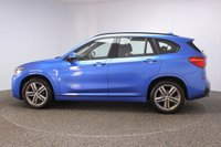 USED 2016 16 BMW X1 2.0 XDRIVE18D M SPORT 5DR AUTO SAT NAV HEATED LEATHER 1 OWNER 148 BHP FULL SERVICE HISTORY + HEATED LEATHER SEATS + SATELLITE NAVIGATION + PARKING SENSOR + BLUETOOTH + CRUISE CONTROL + CLIMATE CONTROL + MULTI FUNCTION WHEEL + DAB RADIO + XENON HEADLIGHTS + ELECTRIC WINDOWS + RADIO/CD/AUX/USB + ELECTRIC MIRRORS + 18 INCH ALLOY WHEELS