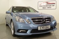 USED 2011 11 MERCEDES-BENZ E CLASS 3.0 E350 CDI BLUEEFFICIENCY SPORT 5d AUTO 265 BHP A beautiful Mercedes E350cdi estate with a huge list of extras and a great history.