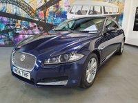 2014 JAGUAR XF 3.0 D V6 LUXURY 4d 240 BHP £9294.00