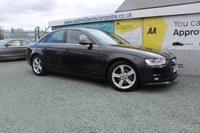 2012 AUDI A4 2.0 TDIE SE TECHNIK 4d 161 BHP DIESEL BLACK £7990.00