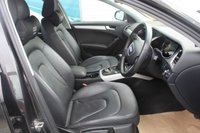 USED 2012 62 AUDI A4 2.0 TDIE SE TECHNIK 4d 161 BHP DIESEL BLACK EXCELLENT CONDITION + FULL SERVICE HISTORY + CAMBELT AND WATER PUMP HAVE BEEN REPLACED