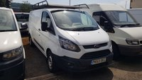 2013 FORD TRANSIT CUSTOM 290 BASE 2.2TDCi 100PS L2 H1 LWB VAN WITH RHINO ROOF RACK £7495.00