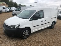 USED 2014 63 VOLKSWAGEN CADDY MAXI 1.6 C20 TDI STARTLINE BLUEMOTION TECHNOLOGY 1d 101 BHP 42000 MILES  * AIR/CON * SAT/NAV * CHOICE OF 9 *