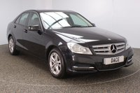 USED 2012 12 MERCEDES-BENZ C CLASS 2.1 C220 CDI BLUEEFFICIENCY EXECUTIVE SE 4DR AUTO HEATED LEATHER SEATS 168 BHP SERVICE HISTORY + HEATED LEATHER SEATS + PARKING SENSOR + BLUETOOTH + CRUISE CONTROL + MULTI FUNCTION WHEEL + CLIMATE CONTROL + RADIO/CD/AUX/USB + ELECTRIC SEATS + ELECTRIC WINDOWS + ELECTRIC MIRRORS + 16 INCH ALLOY WHEELS