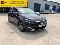 USED 2015 15 PEUGEOT 308 1.6 BLUE HDI S/S ALLURE 5d 120 BHP