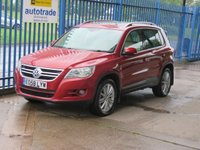 USED 2008 58 VOLKSWAGEN TIGUAN 2.0 SE TDI 5d Auto Sat nav Leather Pan roof Heated seats Rear camera Finance arranged Part exchange available Open 7 days
