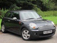 USED 2008 08 MINI HATCH COOPER 1.6 COOPER 3d 118 BHP LOW MILEAGE POPULAR SMALL CAR
