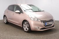 USED 2012 62 PEUGEOT 208 1.4 ALLURE 5DR SAT NAV  95 BHP  SERVICE HISTORY + SATELLITE NAVIGATION + BLUETOOTH + CRUISE CONTROL + CLIMATE CONTROL + MULTI FUNCTION WHEEL + RADIO/AUX/USB + PRIVACY GLASS + ELECTRIC WINDOWS + ELECTRIC MIRRORS + 16 INCH ALLOY WHEELS