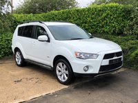 USED 2012 11 MITSUBISHI OUTLANDER 2.3 DI-D GX 3 5d 177 BHP An Excellent Example of this Much Loved Sport Utility Vehicle with 7 Seats, Optional 4 Wheel Drive and a Detailed Full Service History, Climate Control, Heated Electric Powerfold Exterior Mirrors, Leather Multi Function Steering Wheel, Cruise Control, Detachable Towbar + Electrics, Park Distance Control, 17 Inch Alloy Wheels, Roof Rails, Privacy Glass.