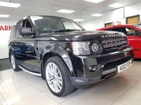 USED 2012 12 LAND ROVER RANGE ROVER SPORT 3.0 SDV6 HSE 5d AUTO+LEATHER+SAT NAV+CAMERA+HEATED SEATS+MASSIVE SPEC