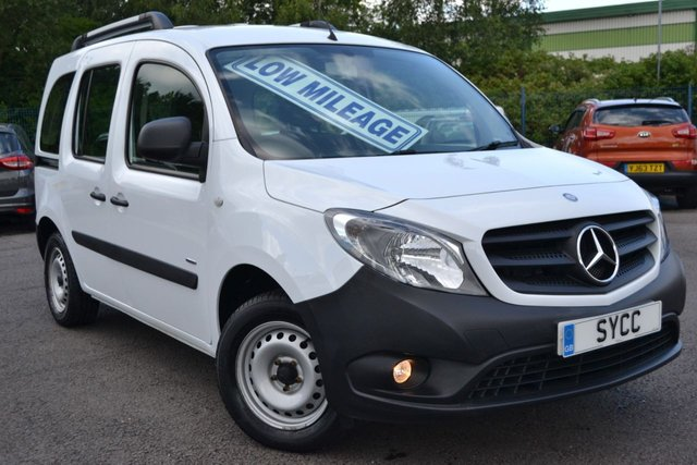 USED 2017 17 MERCEDES-BENZ CITAN  Mercedes-Benz Citan Traveliner 1.5 CDI 111 Long Tourer 5dr (EU6)  FACTORY TRAVELINER ~ 5 SEATS ~ AIRCON ~ BLUETOOTH ~ FULLY GLAZED