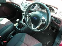 USED 2008 58 FORD FIESTA 1.4 TITANIUM 5d 96 BHP 1 Previous owner - Cambelt changed - Keyless start - Cruise control