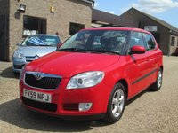 USED 2009 59 SKODA FABIA 1.4 GREENLINE TDI 5d 79 BHP 83.1 MPG EXTRA - ONLY 72,854 MILES FROM NEW