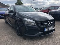 USED 2017 67 MERCEDES-BENZ A CLASS 1.6 A 160 AMG LINE 5d AUTO 102 BHP Manufactures Warranty 2020