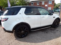 USED 2017 17 LAND ROVER DISCOVERY SPORT 2.0 TD4 HSE BLACK 5d AUTO 180 BHP BIG SPEC CAR, BLACK PACK ,FULL SERVICE HISTORY
