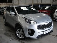 USED 2016 66 KIA SPORTAGE 1.6 2 ISG 5d 130 BHP ANY PART EXCHANGE WELCOME, COUNTRY WIDE DELIVERY ARRANGED, HUGE SPEC