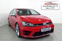 """USED 2016 65 VOLKSWAGEN GOLF 2.0 R 5d  One owner with Full VW service history, leather heated seats and 19"""" pretoria alloy wheels"""