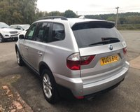 USED 2009 09 BMW X3 2.0 D SE 5d 175 BHP AUTO AUTOMATIC, 84K MILES, FULL LEATHER, SERVICE HISTORY