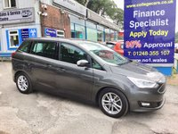 USED 2017 66 FORD GRAND C-MAX 1.5 ZETEC TDCI 5d 118 BHP, only 12000 miles, Sat Navigation ***OCTOBER MEGA DEAL........A LIFETIME WARRANTY and 2 YEARS SERVICING AVAILABLE WITH THIS VEHICLE ***