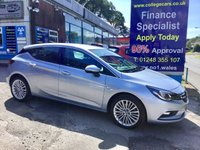 USED 2016 16 VAUXHALL ASTRA 1.6 ELITE NAV CDTI 5d AUTO 134 BHP, only 19000 miles, Full Leather ***APPROVED DEALER FOR CAR FINANCE247 AND ZUT0  ***