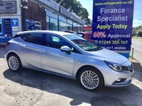 2016 VAUXHALL ASTRA 1.6 ELITE NAV CDTI 5d AUTO 134 BHP, only 19000 miles, Full Leather £10995.00