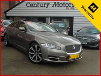 USED 2012 12 JAGUAR XJ 3.0 D V6 PORTFOLIO SWB 4d - FREESAT TV, PAN ROOF