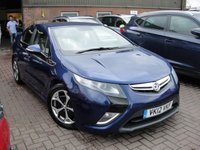 USED 2012 12 VAUXHALL AMPERA 1.4 ELECTRON 5d AUTO 150 BHP ANY PART EXCHANGE WELCOME, COUNTRY WIDE DELIVERY ARRANGED, HUGE SPEC