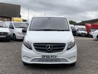 USED 2016 66 MERCEDES-BENZ VITO 1.6 111 CDI EURO 6 LONG LWB FACELIFT EU6 LWB, EURO 6, 1 OWNER, FDSH, ULEZ COMPLIANT, REAR CAMERA