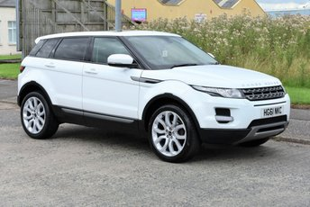 2011 LAND ROVER RANGE ROVER EVOQUE 2.2 SD4 PURE TECH 5d AUTO 190 BHP £16990.00