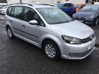 USED 2011 11 VOLKSWAGEN TOURAN 1.6 S TDI 5d 106 BHP OUR  PRICE INCLUDES A 6 MONTH AA WARRANTY DEALER CARE EXTENDED GUARANTEE, 1 YEARS MOT AND A OIL & FILTERS SERVICE. 6 MONTHS FREE BREAKDOWN COVER. CALL US NOW FOR MORE INFORMATION OR TO BOOK A TEST DRIVE ON 01315387070 !!