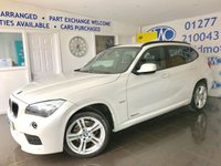 2012 BMW X1 2.0 XDRIVE20D M SPORT 5d AUTO 174 BHP £SOLD